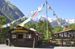 Chalet Totem Adventure e Monte Bianco