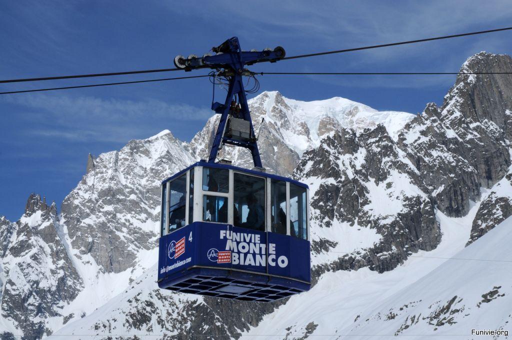 Parapendio Monte Bianco