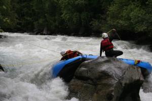 Soccorso Fluviale Cravatta rafting