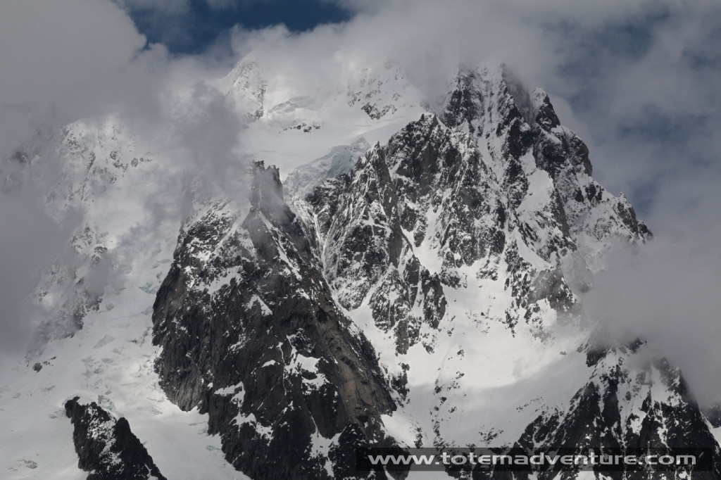 Mont Blanc, the highest summit of the Alps is a stonethrow away from Pre-Saint-Didier. Photo: Aurelien Sudan